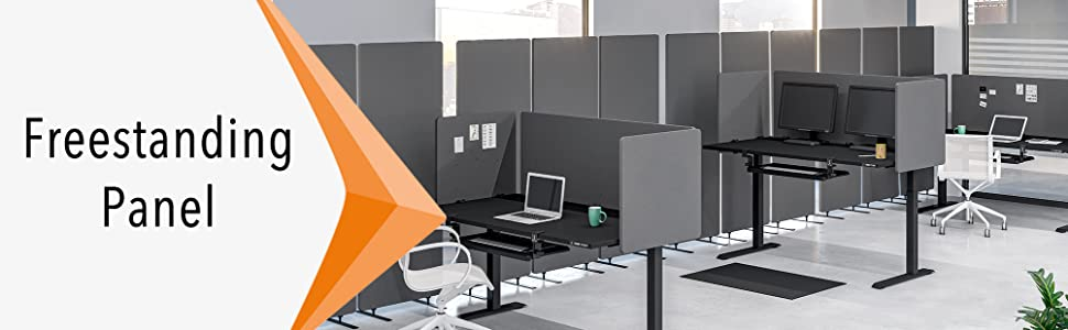 Stand Steady freestanding room dividers