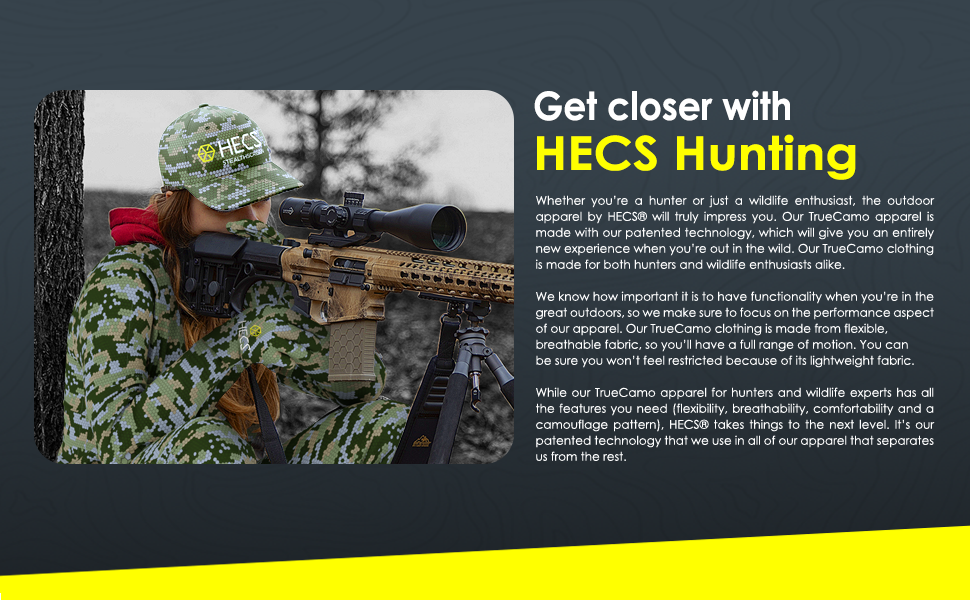 Get Closer With HECS Hunting Hat