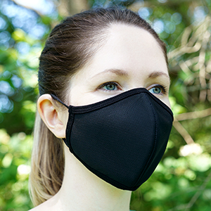washable reusable mask protective face mask tight fit mask for adults adult mask in black