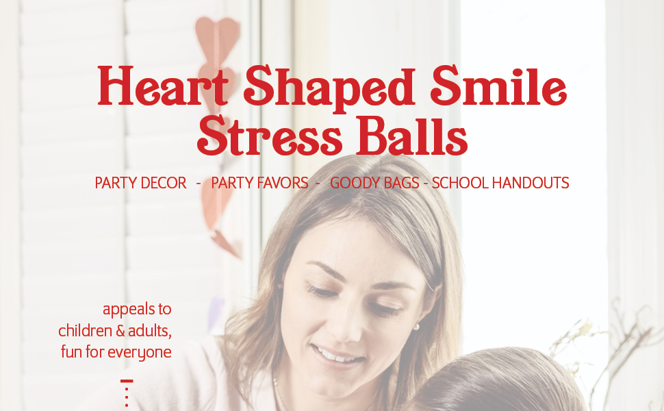heart stress balls