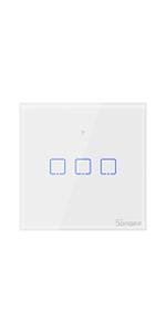sonoff, touch, smart switch, amazon alexa, google home, ifttt