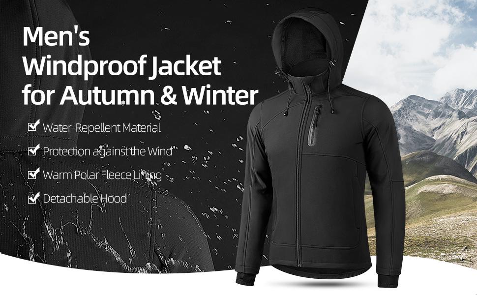 Windproof Jacket Men