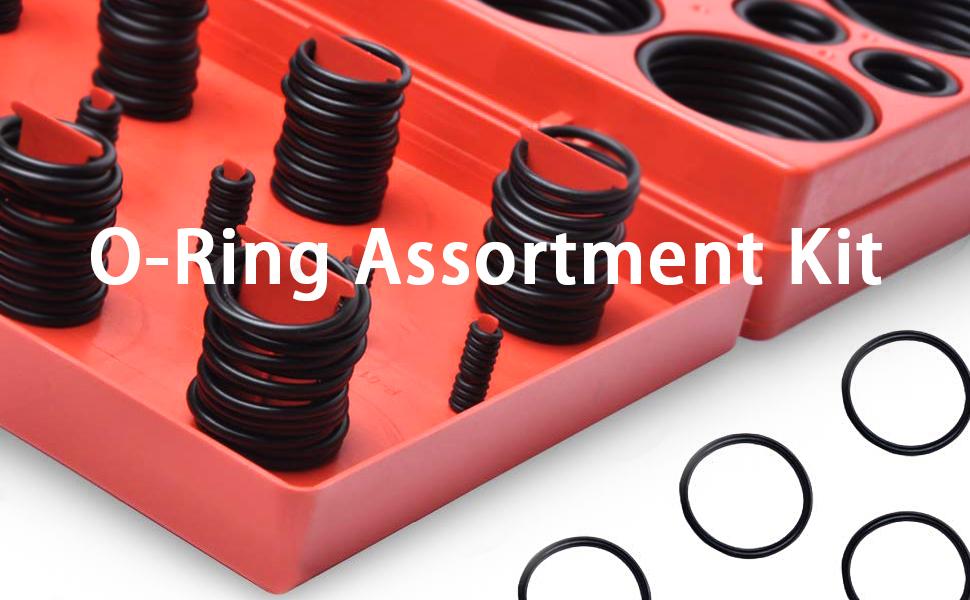 O-Ring Assortment Kit, 419 pcs