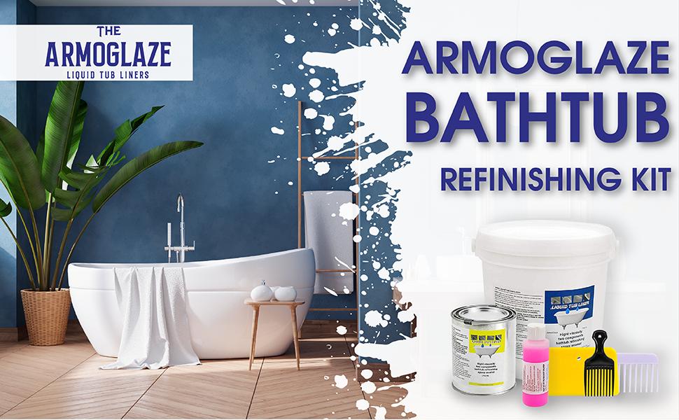 armoglaze, bathtub refinishing kit, coating,