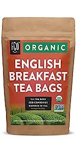 Organic English Breakfast Tea