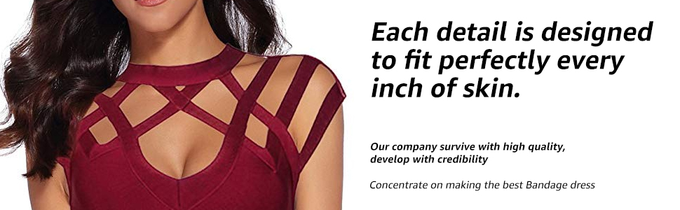 women's bodycon bandage dress