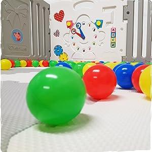 corralito jugar bolígrafo niño bebé bolas esteras gris niños