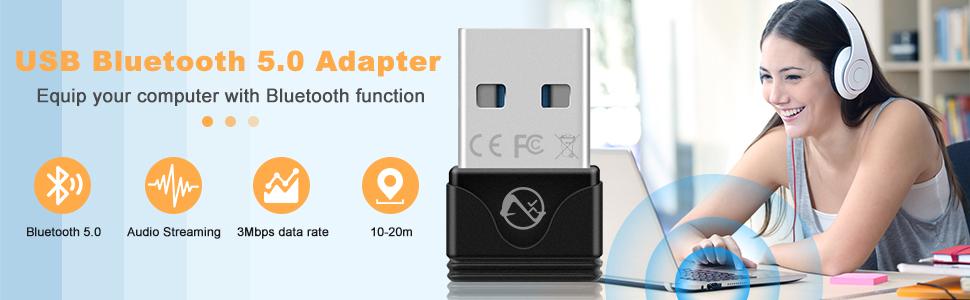 USB BLUETOOTH 5.0 ADAPTER