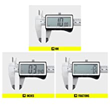 Measures MM, Inches & Fractions