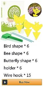 the fly butterfly shaped sticky trap nat catcher venus fly trap plants sticky paper for bugs