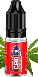 100 mg Vollspectrum de CBD Liquid Shot