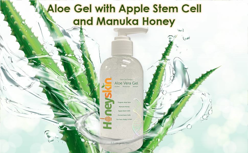 aloe vera, aloe gel, manuka honey