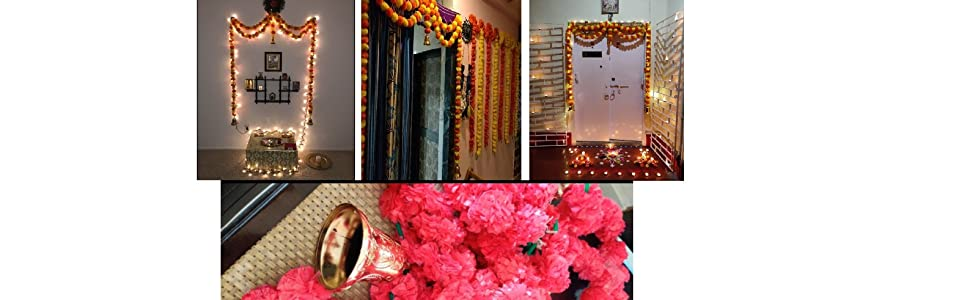tips to decorate with artificial flower and door hangings welcome guests entrance decor
