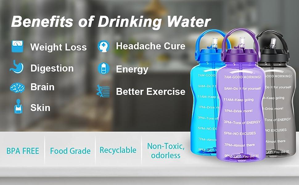 gallon water bottle motivational