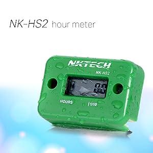 NK-HS2 inductive hour meter Dirt Bike Generator Outboard Motor Waterproof Stroke generac Hustler ATV