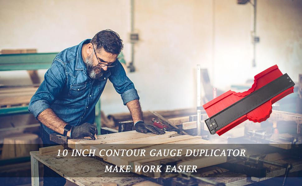 10 inch profile gauge duplicator copy shape