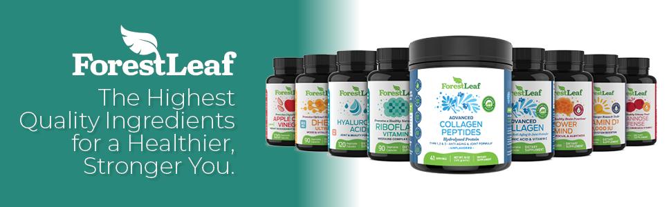 forest leaf brand premium quality supplements vitamin b2 riboflavin migraine relief