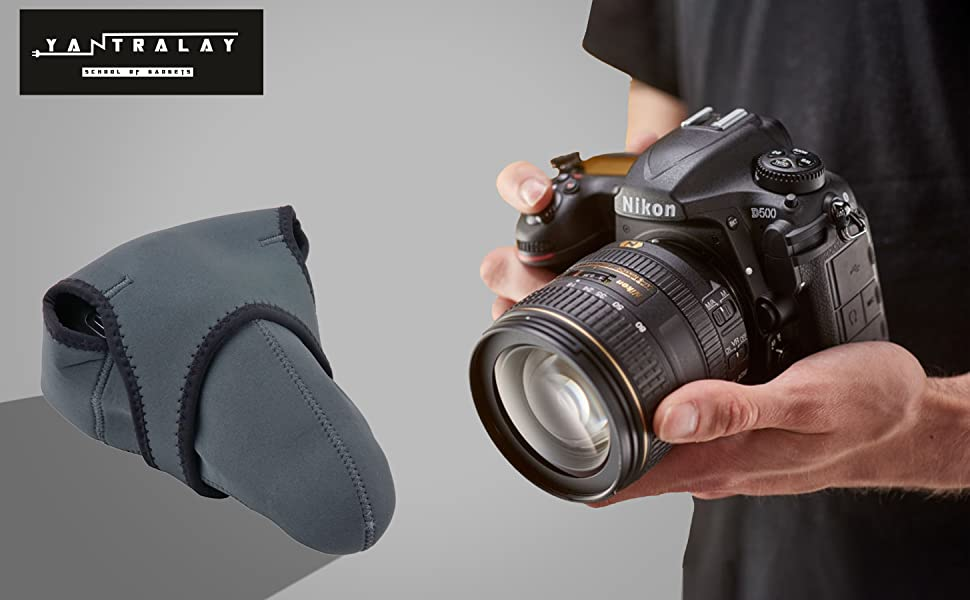 camera case, cases for canon, cases for DSLR, carry around cases, neoprene case for camera