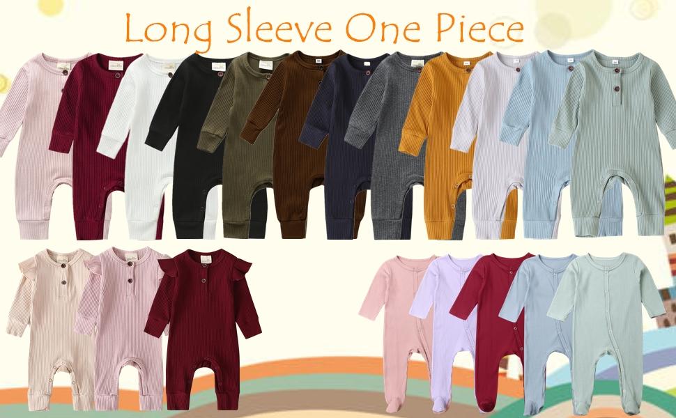 long sleeve one piece