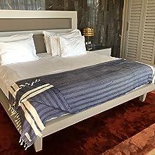 Bersuse Beach Blanket Bed Throw