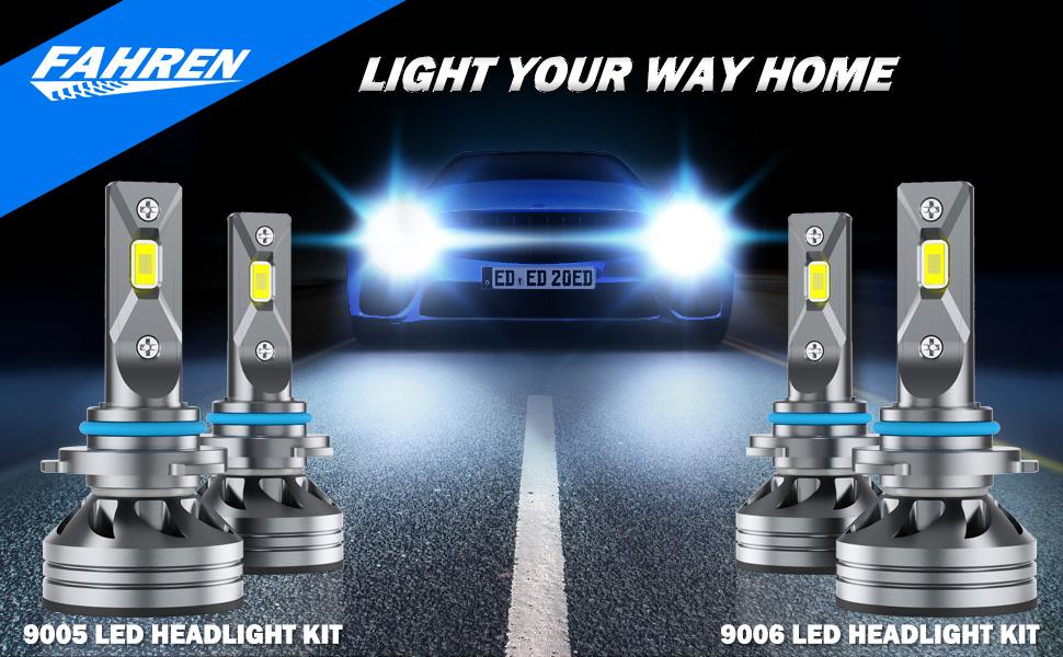 9006 9006 led headlight