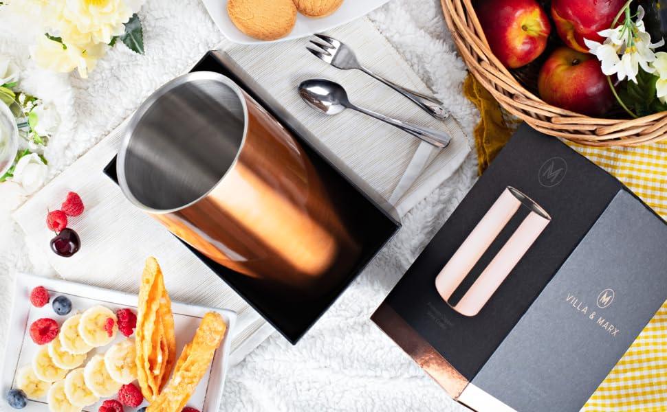 villa marx wine chiller gift idea picnic