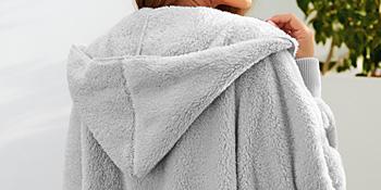 fleece cardigan for women