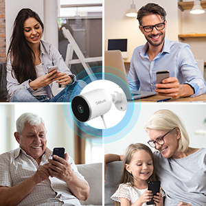 outdoor home security camera system