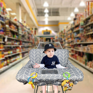 Cotton shopping cart cover