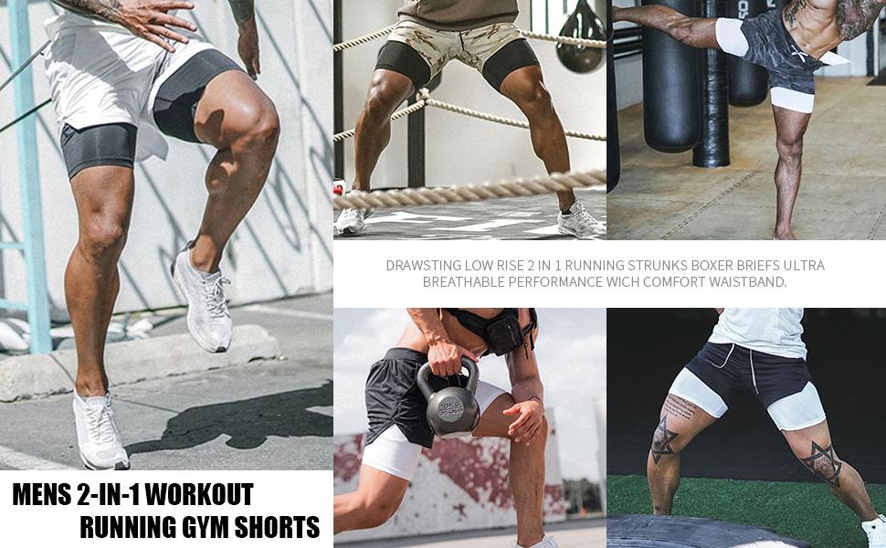 Gym Yoga Training Sport Compression Tight Shorts