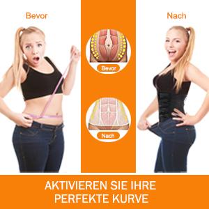 Damen Bauchweggürtel Schwitzgürtel Fitness Sauna Gürtel