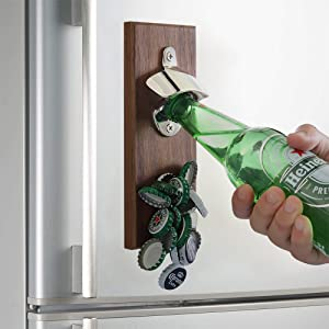 magnetic beer bottle opener for refrigerator