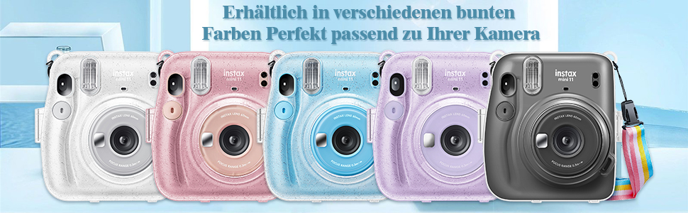Fujifilm Instax Mini 11 Camera Tas Hoes Beschermhoes
