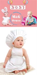 baby photo chef costumes