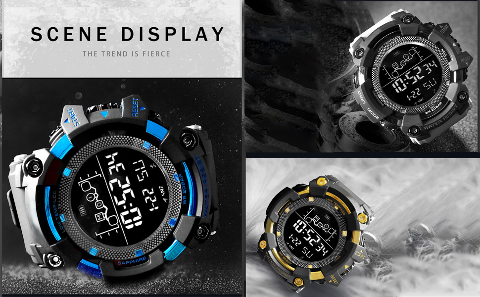 Digital Watch for men and boys