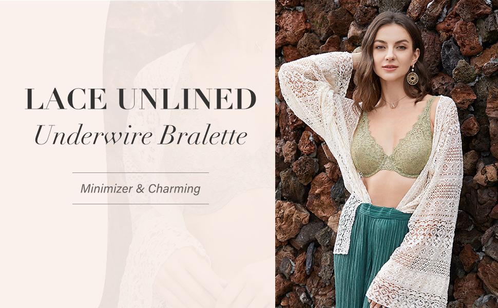 Lace Unlined Bra