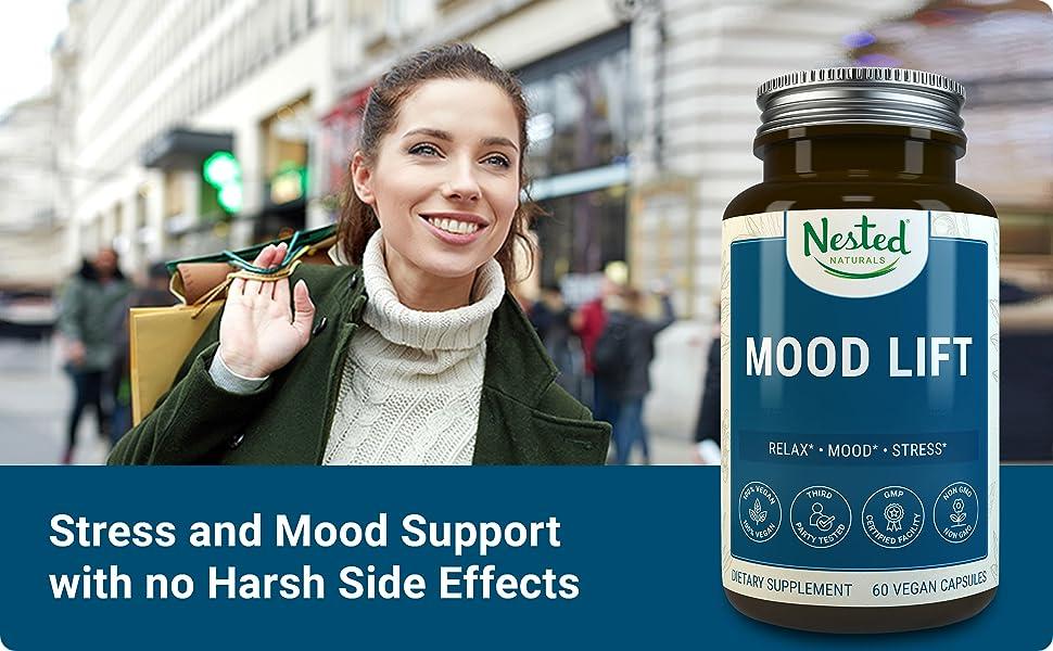 Nested Naturals Mood Lift Health Supplement