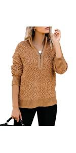 Fleece Pullover Sweater