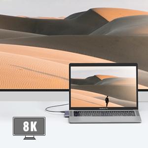 USB C to USB C 8K