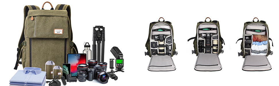Camera Bag with removeable padded interior