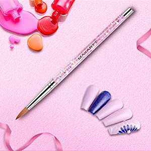 acrylic nail brush for acrylic powder