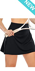 Womens High Waisted Tennis Skirt Skorts with Pockets Shorts Athletic Golf Running Skirt