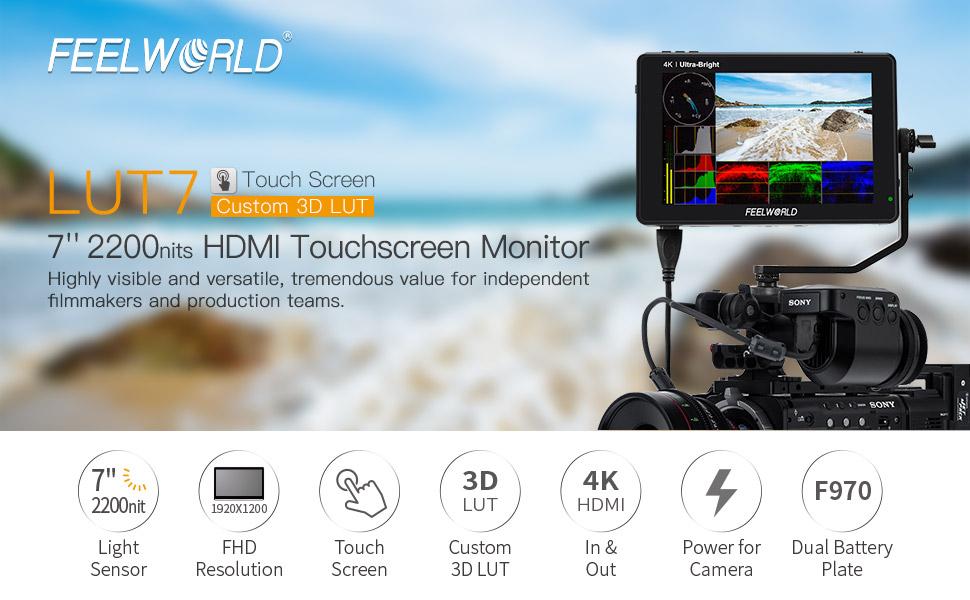 FEELWORLD LUT7 camera monitor