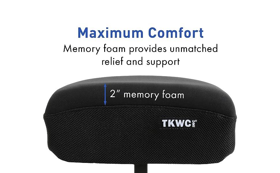 For Maximum Comfort on Knee Walkers