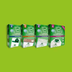 immagine scatole sacchetti Domus Clean