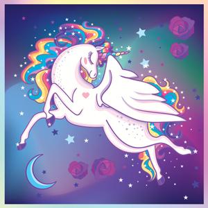 Glowing Snuggles Unicorn Blanket