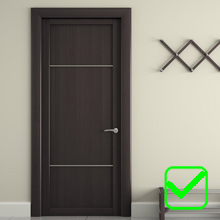 Wood Door/Wall
