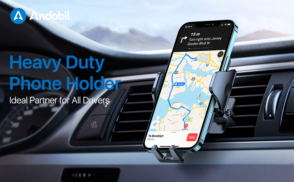 cell phone holder for car vent