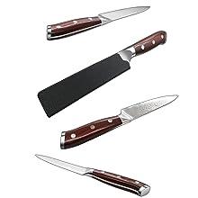 A KNIFE SHEATH INSIDE PACKAGING