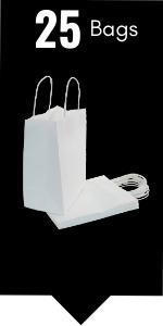 PI11018 white paper gift bags